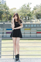 DSC_5524 (錢龍) Tags: 陳葳 d700 美術館 nikon 外拍 美胸 beauty girl sexy