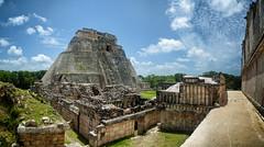 Uxmal (nickriviera73) Tags: uxmal mexico travel quintana roo yucatan maya ruins panorama wide pentax k20d architecture