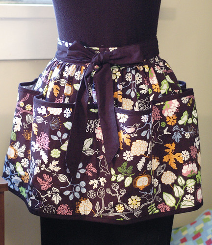 """RITA"" Black vendor/craft apron"