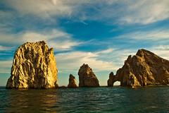 Cabo San Lucas (b.campbell65) Tags: ocean sky water clouds mexico cabo san cliffs lucas geology blueribbonwinner