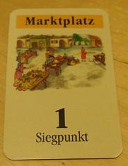 Spiel '09: Die Siedler von Catan: Marktplatz-Karte