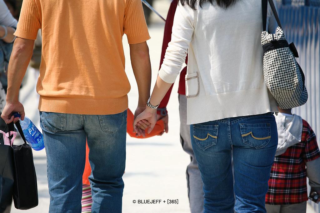 四手相連 - holding hands
