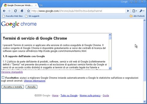 Google Chrome - switch to beta 02