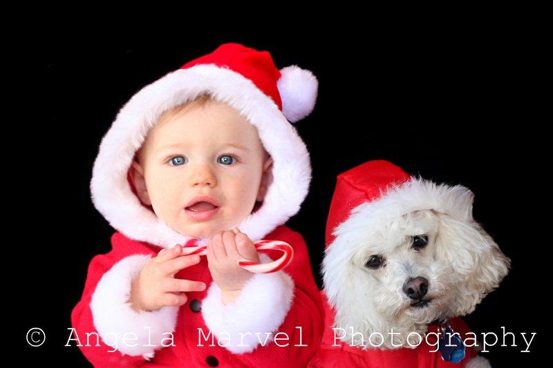 My two santa boys