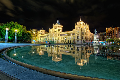 Plaza Zorrilla, Valladolid (Spain) HDR por marcp_dmoz.