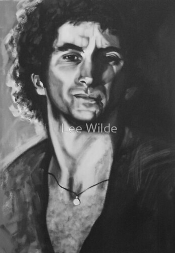 Lee Wilde portrait of Bon
