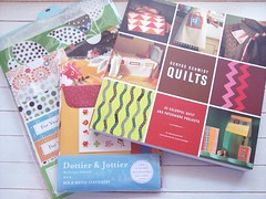 "Autographed ""DS Quilts"" and FMF papergoods from Denyse Schmidt for giveaway on Flea market fancy freaks"
