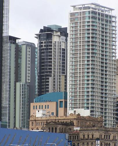 Residential towers, Brisbane CBD