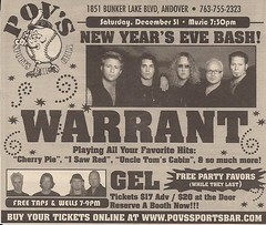 12/31/05 Warrant/Gel @ Andover, MN (Ad)