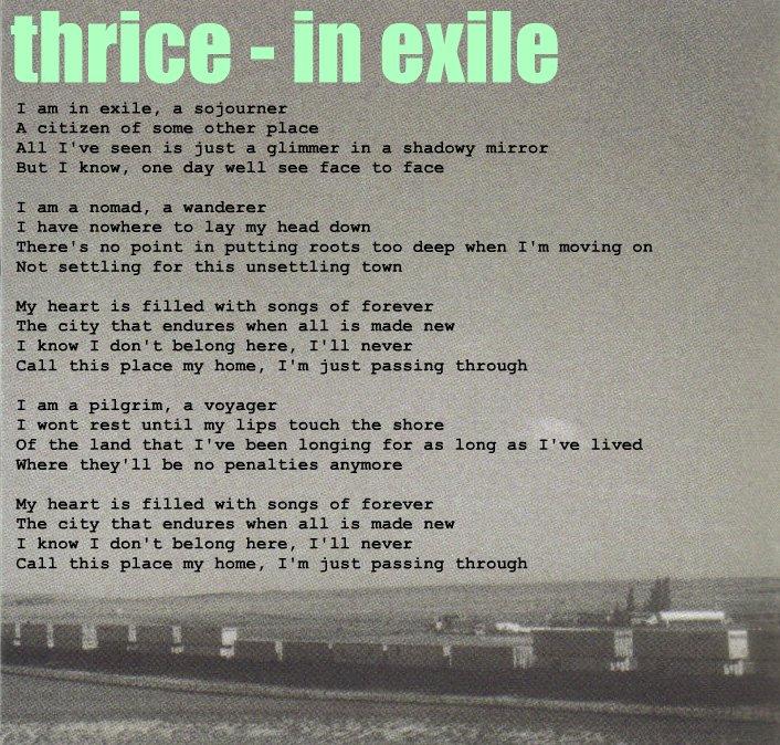 Exile Song Lyrics   MetroLyrics