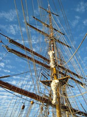 Waiting in Salvador (HoosierSands) Tags: europa tallship barque southatlantic
