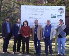 Rural Development presents the Red Cloud Indian School with Recovery Act funds in South Dakota