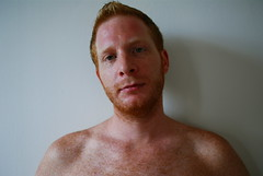 gone (redjoe) Tags: nyc newyorkcity man hot guy me face self mouth hair fur beard nose ginger eyes fuzzy manhattan lips redhead freckles redhair fuzz redjoe knitboy1 joehorvath