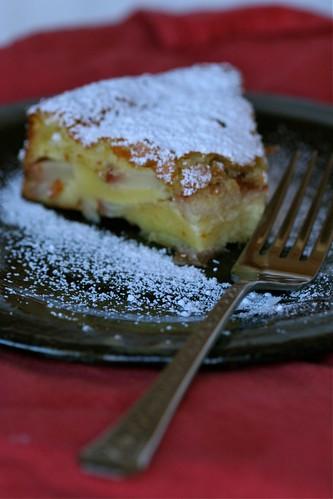 Pear Cream Cake 1