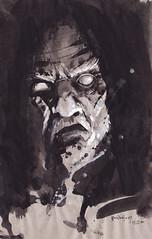 jorge el venerable (emy mariani) Tags: art dark muerte gore satan doom horror emy dibujos miedo mariani oscuridad arcanos indescriptible ominoso omnopotente