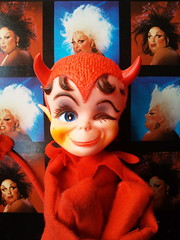 DIKKENS IS SIMPLY DIVINE (Toypincher) Tags: boy man vintage toy pop divine devil collectable dikkens