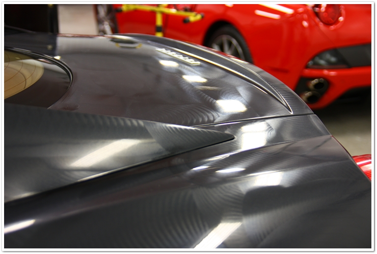Ferrari 599 GTB Blackfire Wet Diamond application