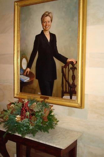 hillary clinton portrait. Hillary Clinton Portrait