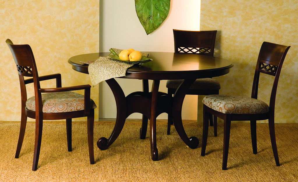 54 54 Glass Table Top: 54 ROUND DINING TABLES