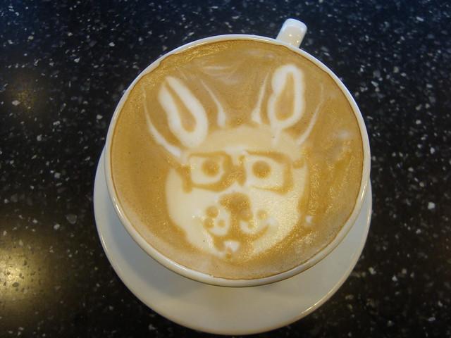 Blenz Coffee Latte Art in Vancouver