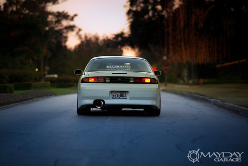 If the car could float, Im positive this 240 would sail back to Japan