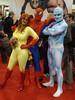 Spider-man & His Amazing Friends (amber-the-stylist) Tags: comics jones costume women cosplay spiderman xmen superhero marvel comiccon angelica mutants firestar javits nycc amazingfriends misslion mslion