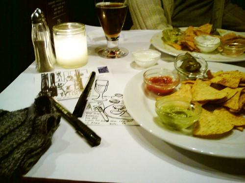sketching nachos