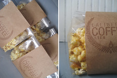 Sweet & Salty Caramel Curry Popcorn (roblaliberte) Tags: coffee gift popcorn surprise treat