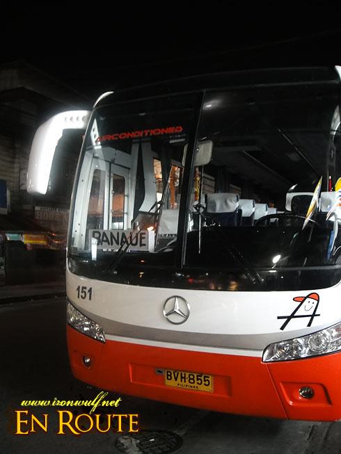 Autobus to Banau