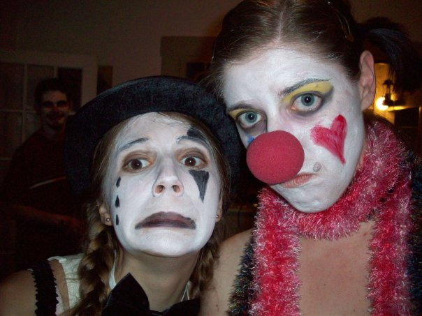 me and a mime