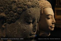 Head of the Buddha (MonsieurLondon) Tags: london heritage history asian europa victoriaandalbertmuseum heritagekey