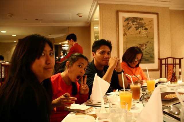 Last night at HK: Dinner at Chinese resto