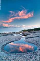 """Mirror mirror on the shore, which cloud is the fairest of them all?"" (Rob Orthen) Tags: sunset sea sky reflection rock suomi finland landscape nikon europe scenic rob tokina 09 scandinavia polarizer meri maisema vesi archipelago kes pinta d300 heijastus gnd 1116 nohdr orthen leefilters roborthenphotography tokina1116 tokina1116mm28 seafinland"