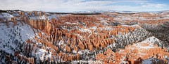 View From Bryce Point (Topher.Pettit) Tags: panorama snow nature forest canon landscape outdoors utah nationalpark ut desert stitch pano panoramic canyon hoodoo redrock brycecanyon viewpoint mountian hoodoos brycecanyonnationalpark canyoncountry brycepoint highway12 canoneos5d unitedstatesnationalpark
