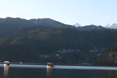(Amrico Meira) Tags: lake lago boat barco lac neve bled bateau slovene eslovnia slovenjia