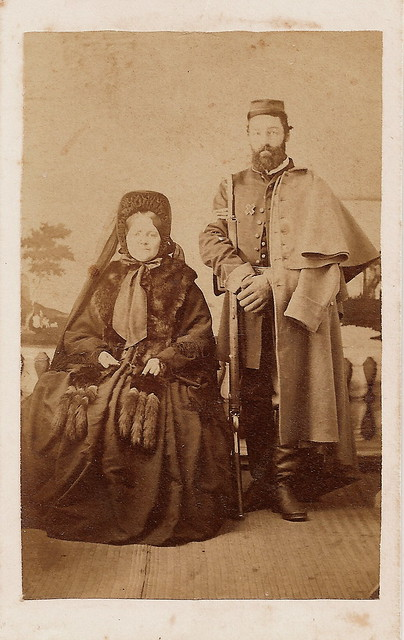 Infantry Sergeant and Wife