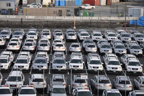GM sponsored vehicles