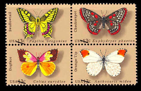 butterfly stamp john