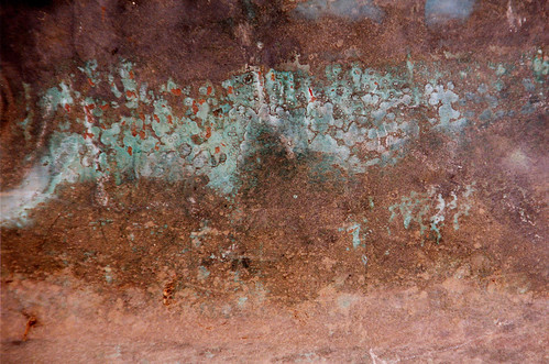Copper Oxide, Oxidised Copper Metal Texture