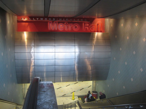 Metro on Hollywood Blvd
