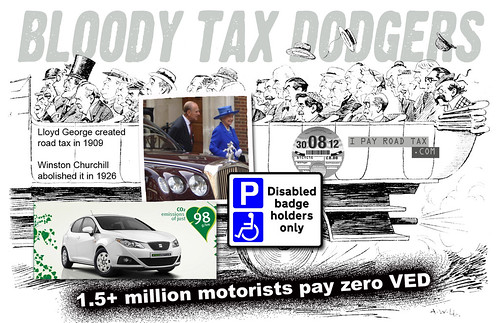 reporting a vehicle without road tax
