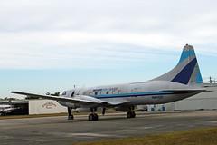 Cv440.N41527 (Airliners) Tags: miami cargo 440 freighter opf convair cv440 propliner 11010 convair440 miamiairlease n41527