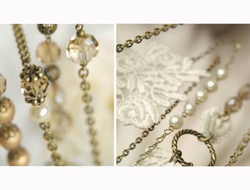 Aurelia - Long Necklace. Vintage chic. Limited Edition.