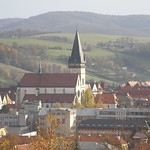 Bardejov: Panorama of the city from the North