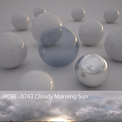 0743 Cloudy Morning Sun