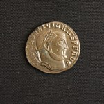 "<b>355 Obverse</b><br/> <a href=""http://en.wikipedia.org/wiki/Licinius"" rel=""nofollow""><u><b>Licinius</b></u></a> <i>Reign: AD308 - 324</i> Sharing the East with Daia, Licinius controlled Greece, Thrace, and Illyricum, the Hellespont being the dividing line between their realms. During their civil war, Licinius defeated Daia. In 314, Licinius again fought a civil war, this time with Constantine, who ruled the Western Empire. Licinius called his friend Valens to be co-emperor with him in the east and if they ever conquered the West. However, Licinius and Constantinte reconciled after a few battles, and Licinius had Valens killed. The two fought another civil war in 324, in which Constantine prevailed and which resulted in Licinius' death.  Donated by Dr. Orlando ""Pip"" Qualley<a href=""http://farm3.static.flickr.com/2787/4352106992_1855de47ca_o.jpg"" title=""High res"">∝</a>"