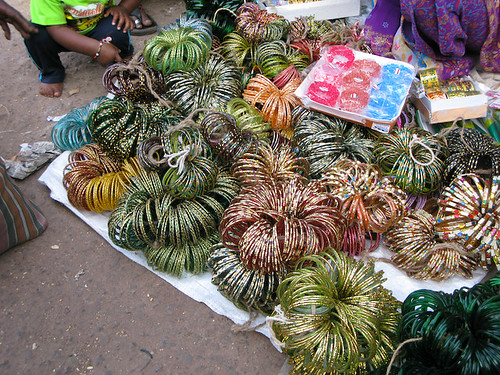 Bangles in the Mapusa Market