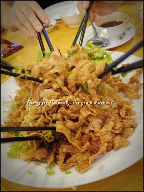Lou Sang @ Delight Seafood Restaurant, Ipoh
