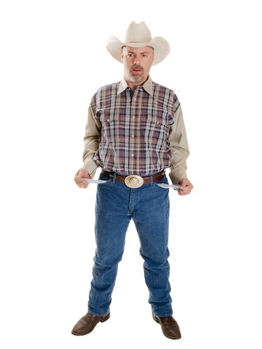 Broke cowboy with pockets turned out by dgilder