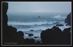powerful waves (thorgerdur mattia) Tags: winter cold dark coast iceland waves gloomy power shore powers february powerful reykjanes febrar examples orgerur powerfulwaves thorgerdurmattia orgerurmatta powerwaves weatherexamples allweatherexamplesinoneday thorgerdur